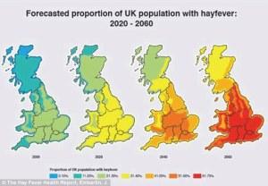 Hay fever population 2020