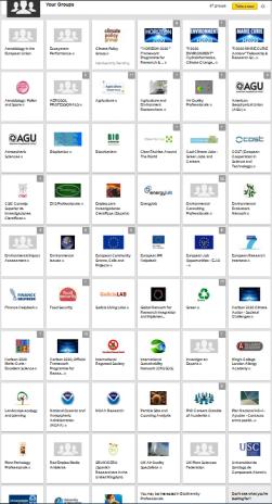 LinkedIn block groups