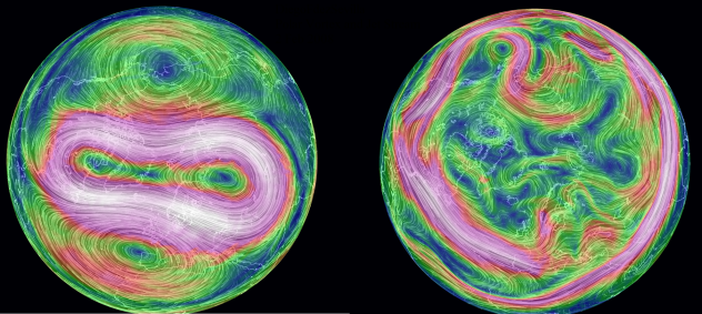 Polar Vortex and Jet Stream conditions 8 Feb 2014