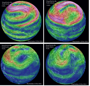 Polar vortex 22 Nov 2014