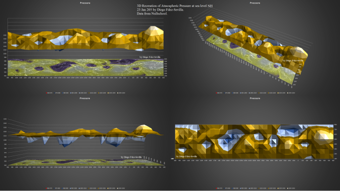 3D recreation Atm Pressure NH by Diego FdezSevilla