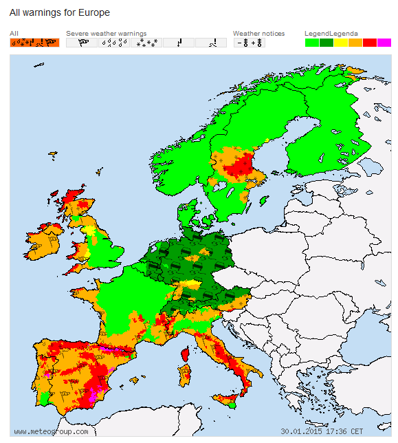 httpwarningssevere weather centrecoukeurope indexhtml
