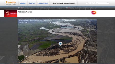 RTVE floods in Spain diegofdezsevilla