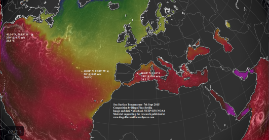 SST Iberian Peninsula 7th Sept 2015