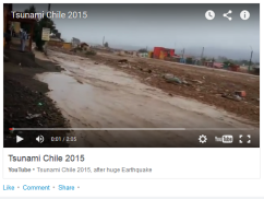 Tsunami Chile InFormAtion by Diego Fdez-Sevilla