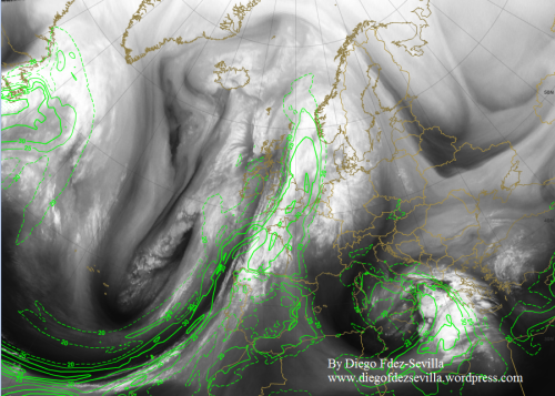 30 Oct 2015 Water Vapor 6_2 and TPW Diego Fdez-Sevilla