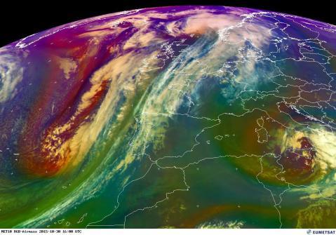 Airmass WesternEurope 30 Oct 2015