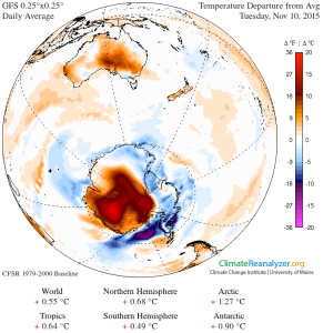 GFS-025deg Temp_anom Antarctica