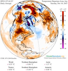 GFS-025deg Temp_anom NH Arctic