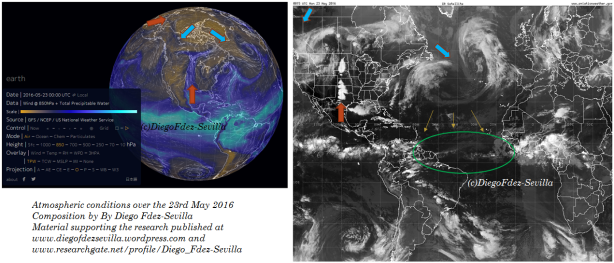 North Hemispheric circulation Atlantic 23 May 2016 by Diego Fdez-Sevilla